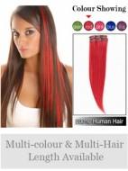 Gerade Red Bequeme Clip in Haarverlängerungen