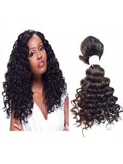 Brasilianische Jungfrau-Haar Natürliches Schwarzes Haar Rohboden Menschliches Haar Weave Bundles