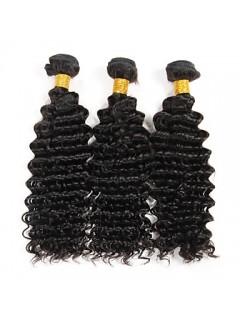 Brasilianische Jungfrau-Haar-Tiefe Welle Haar-Verlängerungen Raw Menschliches Haar