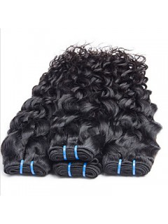 Brasilianischer Jungfrau-Haar-Wasser-Wellen-Brasilianische Haar-Webart Bundles Naß Und Wellenförmige Jungfrau-Haar