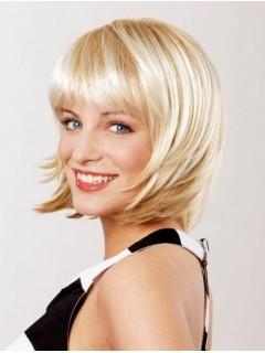 Blonde Spitzefront Convenient Mittel Perücke