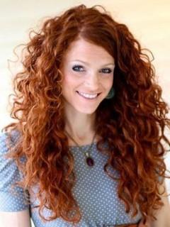 Erstaunlich Curly 100 Echthaar Spitzefront Perücke