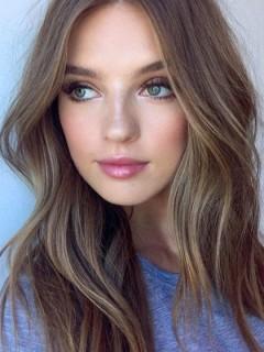 Erstaunliche Lange Braune Lockige Frisuren Für Frauen Remy Echthaar Perücken