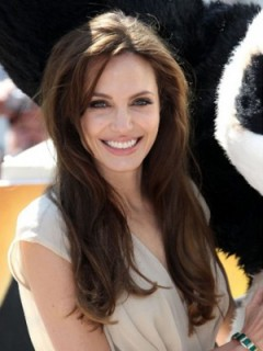 Angelina 100% Echthaar Promi Perücke