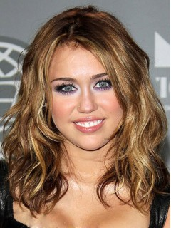 Miley Cyrus Promi Perücke