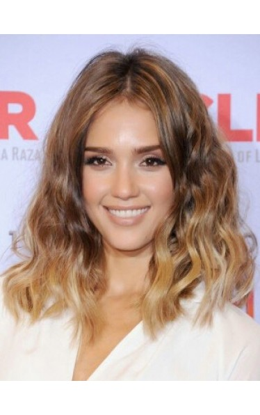 Jessica Alba Welling Bob Haircut Perücken
