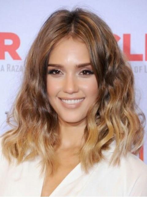 Jessica Alba Welling Bob Haircut Perücken