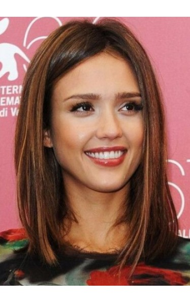 Jessica Alba New Bob Haircut Perücken