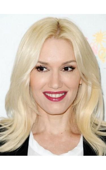 Gwen Stefani Welling Spitzefront Remy Echthaar Perücken