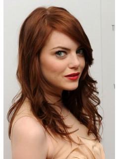 Emma Stone Lang Curls Perücken