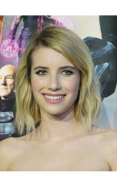 Emma Roberts Kurz Welling Cut Perücken